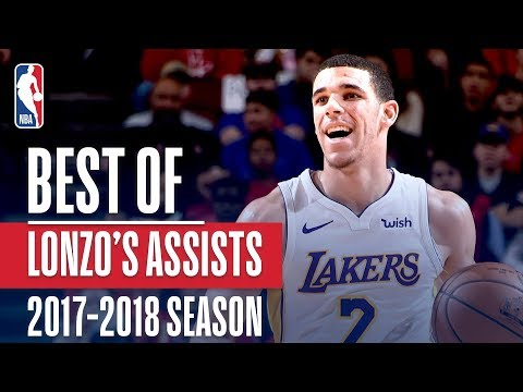 Lonzo Ball's Best Assists of the 2017-2018 NBA Regular Season!