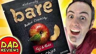 BEST SNACKS WITH APPLES   Bare Apple Chips Taste Test & Review
