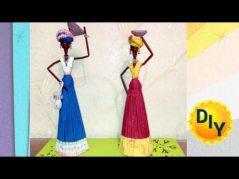Кукла африканка из ткани своими руками