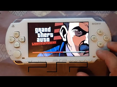 Sony PSP Loading Time Comparison - Memory Card Vs UMD (Grand Theft Auto Liberty City Stories)