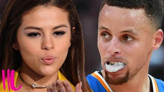 Selena Gomez Supports Stephen Curry After He Hits Fan With Mouthpiece