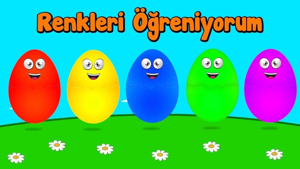 Harika Arilar Ile Ingilizce Renkleri Ogreniyorum Surpriz Yumurta
