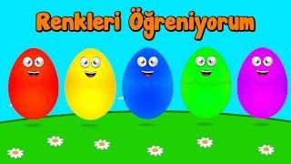 Harika Arılar ile İngilizce Renkleri Öğreniyorum | Sürpriz Yumurta Renkli Hayvanlar
