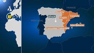 Diez provincias españolas en alerta naranja ante la llegada de