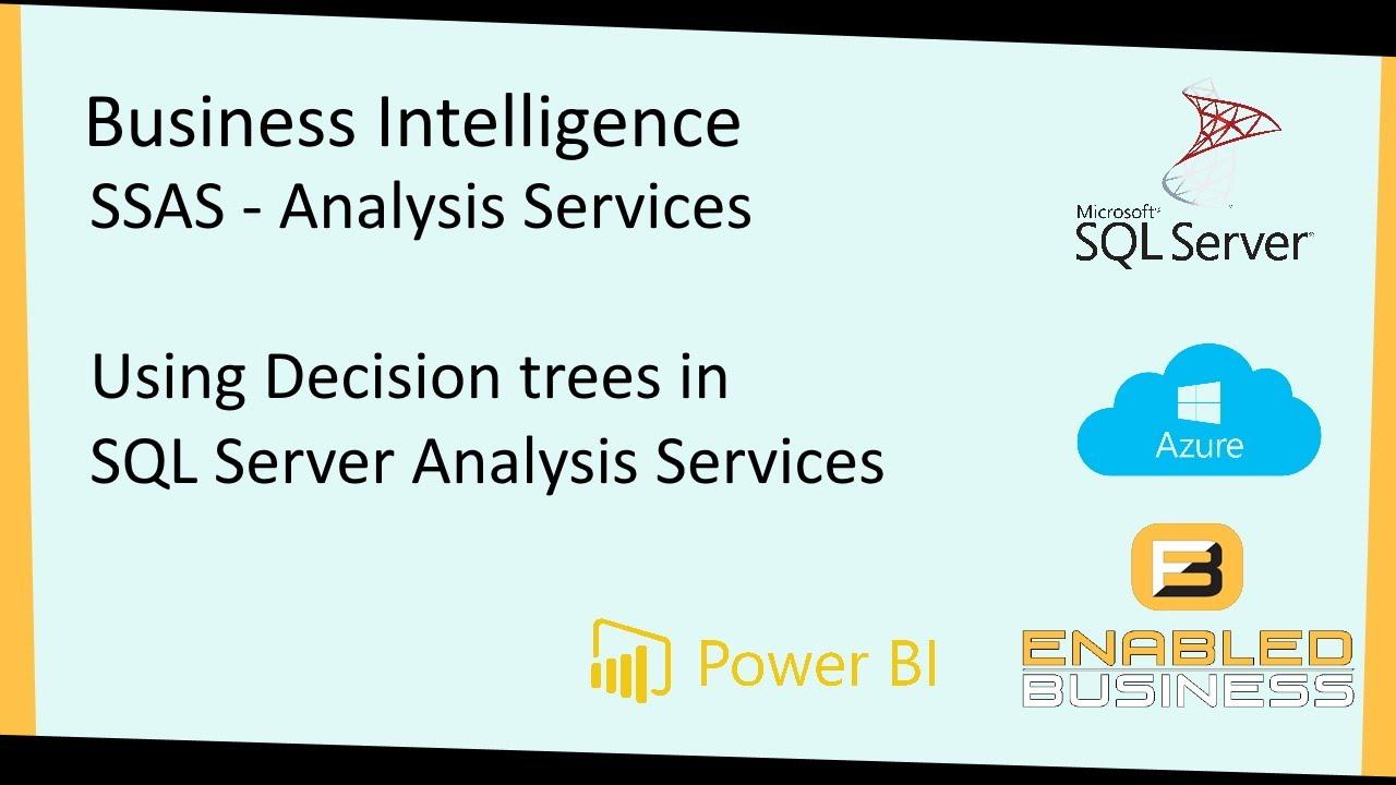 MS SQL Server Data mining- decision tree - YouTube