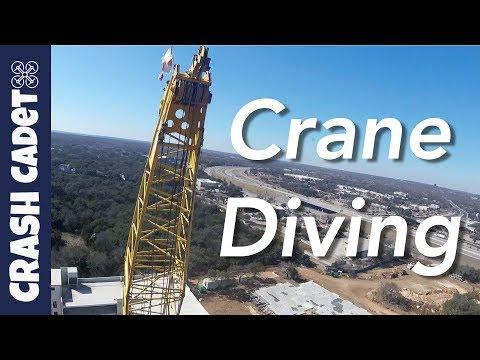 Crane Diving