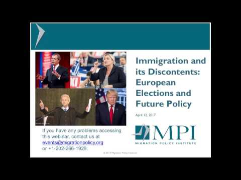 Immigration and its Discontents: European Elections and Future Policy