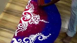 How to draw beautiful sanskar bharati rangoli Simple creative rangoli design