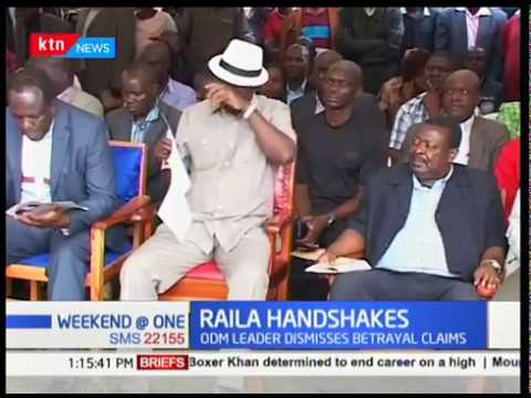Raila Odinga forced to put up a passionate defence of his handshake with Uhuru Kenyatta