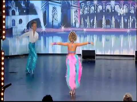 Axel et Alizée   Danse enfant   1er passage Incroyable talent 2010