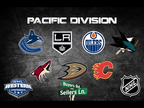 NHL Trade Deadline 2017 l Pacific Division Buyers and Sellers