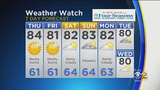 CBS 2 Weather Watch 11 a.m. 8-8-19