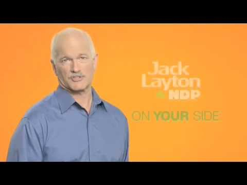 NDP ad: Jack Layton On Your Side (2009)