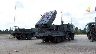 武装部队新陆基导弹 能歼灭70公里以外空中威胁 - YouTube