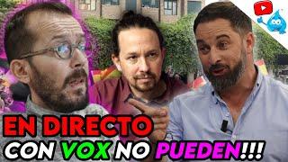 VOX pone NERVIOSO a ECHENIQUE y PABLO IGLESIAS, MONTAJES y MUCHO MÁS. DIRECTO DE LOS MARTES Nº116