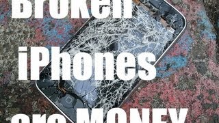 Craigslist Hustle ! Broken iPhones Are Money! Broken Electronics Sell Well