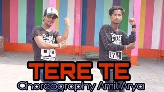 Guru Randhawa TERE TE ft. Ikka | Bhushan Kumar | Zaara Y | Dance Choreography Amit Arya@