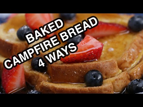 Baked Campfire Bread 4 Ways from YouTube · Duration:  2 minutes 30 seconds