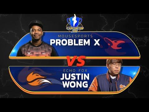 Problem X (M. Bison) Vs Justin Wong (Menat) - Capcom Cup 2018 Main Stream - CPT2018
