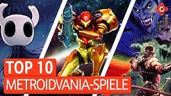Die 10 besten Metroidvania-Spiele | Top 10