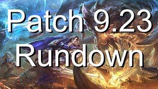 PRESEASON 2020 PATCH RUNDOWN! League of Legends Patch 9.23