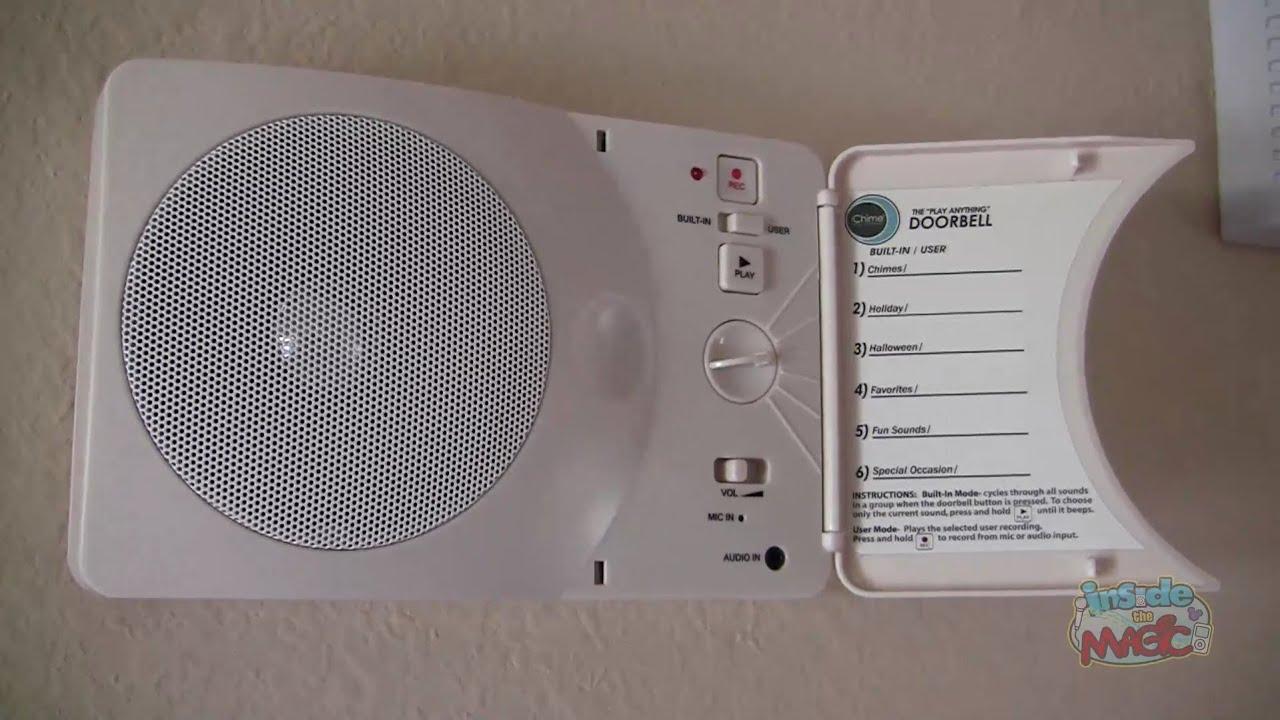 Disney Haunted Mansion doorbell using customizable iChime device