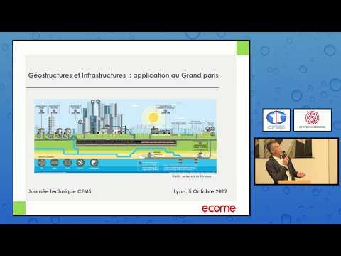 Géostructures et infrastructures : application au Grand Paris