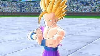 Dragonball Raging Blast 2 - All of Super Saiyan 2 Teen Gohan