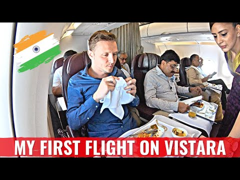 Review: AIR VISTARA A320 Business Class - INDIA'S BEST AIRLINE?