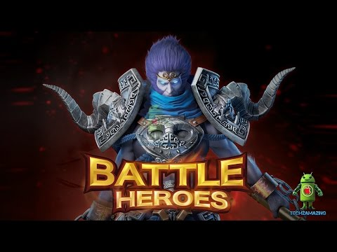 LINE Battle Heroes (iOS/Android) Gameplay HD