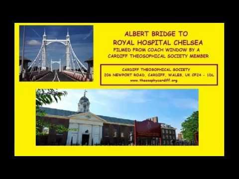 London:- Albert Bridge to Royal Chelsea Hospital
