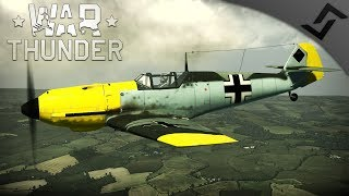 Battle of Britain - Bf 109 and Spitfire Gameplay - War Thunder RB Plane Event