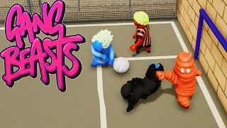 GANG BEASTS - Football aka Soccer - Is Holding a Foul? [Football] - Xbox One Gameplay