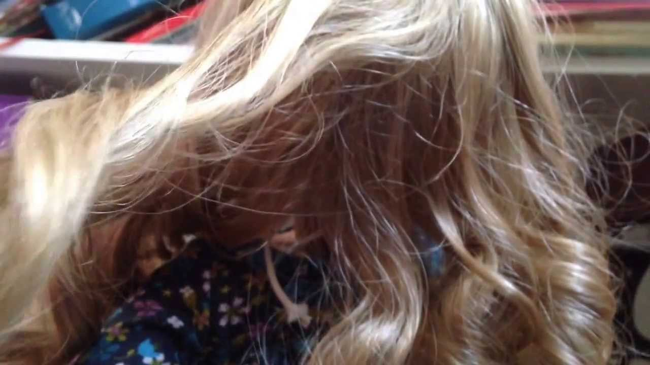 How To Curl Your Dolls Hair With Straws - 5 easy ways to curl your dolls hair