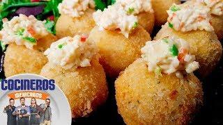 Receta: Sushi de surimi empanizado | Cocineros Mexicanos