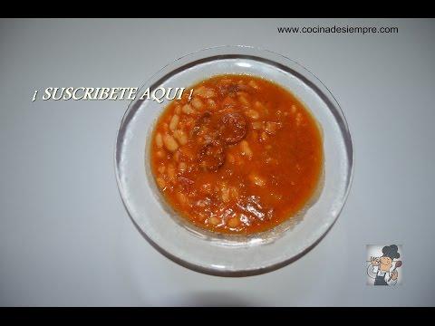 Alubias estofadas con costilla de cerdo receta f cil doovi - Alubias rojas con costilla ...