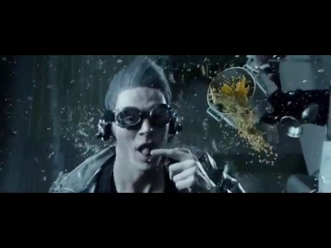 Quicksilver Scene from Days of Future Past with Pink Floyd' Time