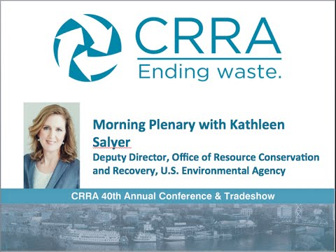 CRRA 2016 Plenary with Kathleen Salyer, August 9, 2016