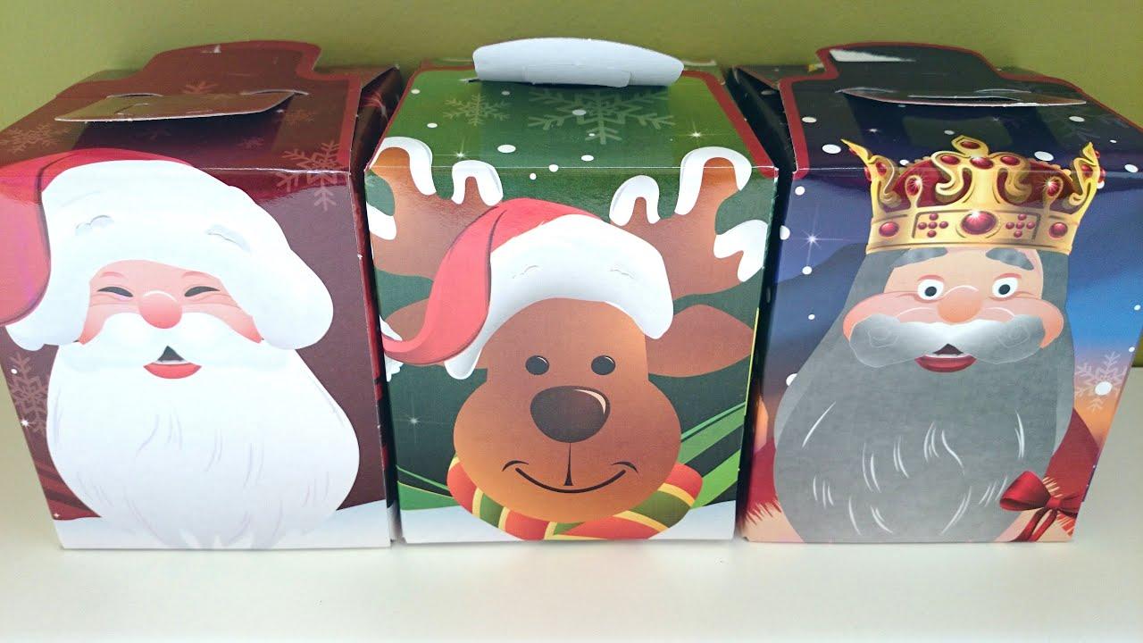 Caja sorpresa de navidad unboxing de chuches youtube - Sorpresas para navidad ...