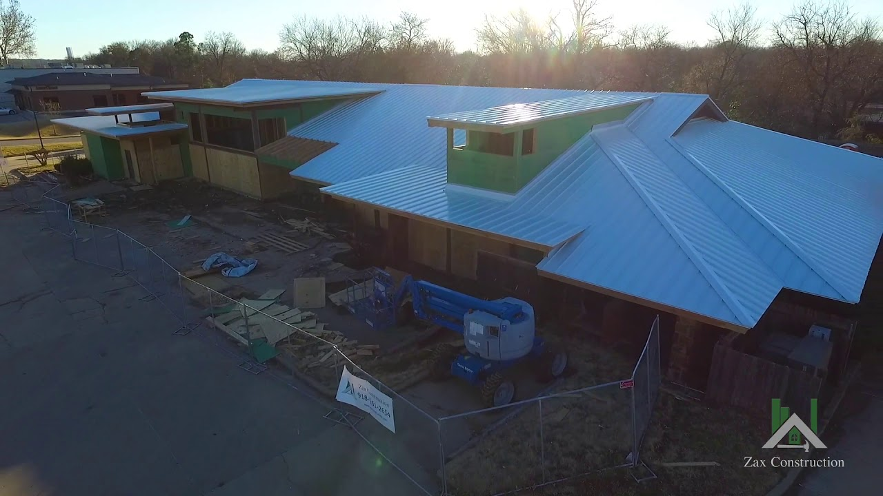 Zax Construction Progress Video