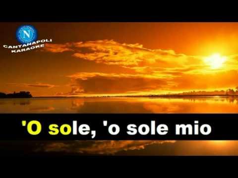 O' Sole Mio  Karaoke