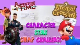 The Character-Style SWAP Challenge - @dramaticparrot