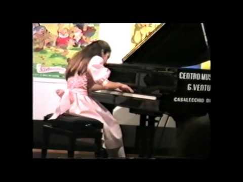 L.van Beethoven Sonata Op.78 GLORIA D'ATRI  1988 (Aged 12)