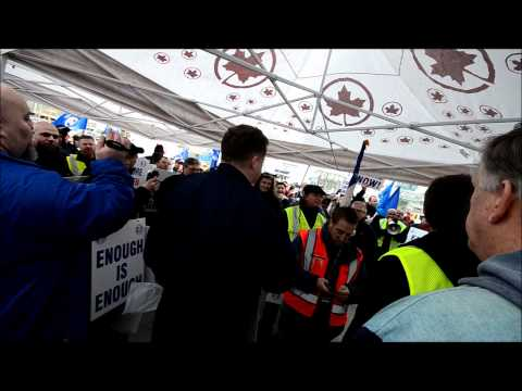 Air Canada March 787 Rally