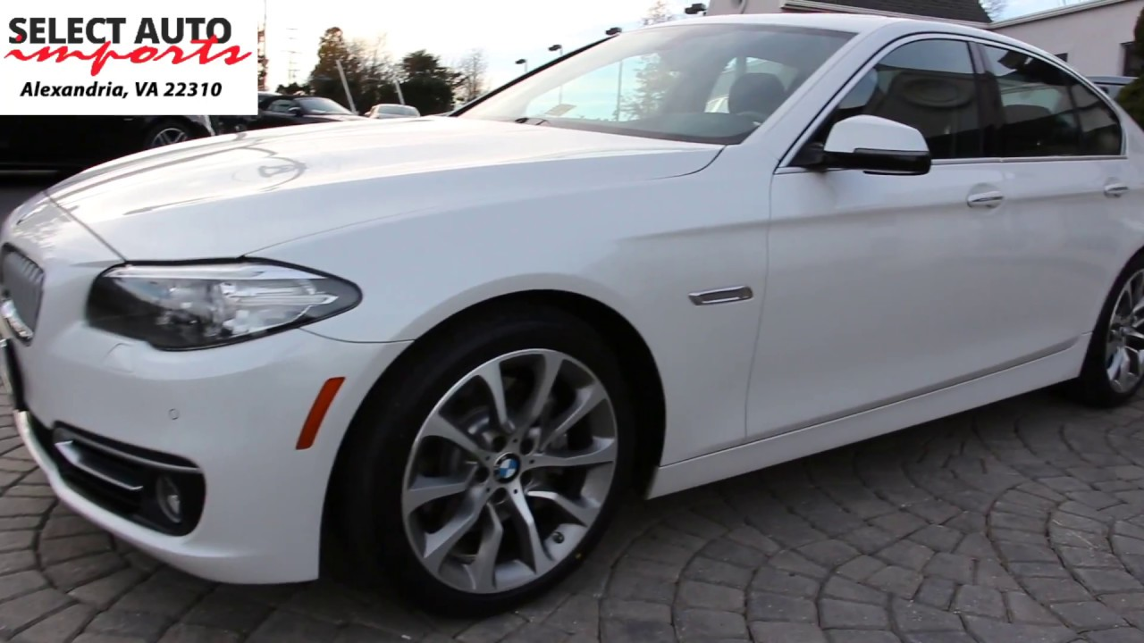2014 Bmw 535i Xdrive Modern Line Mineral White Metallic Select Auto