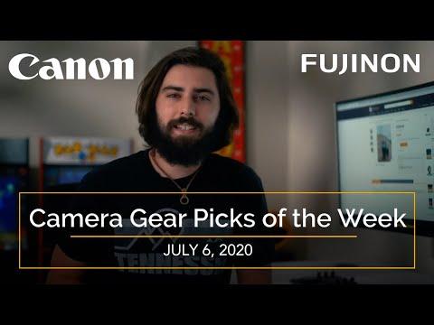 Used Camera Gear Picks Of The Week: Canon & Fuji Lenses & Cameras