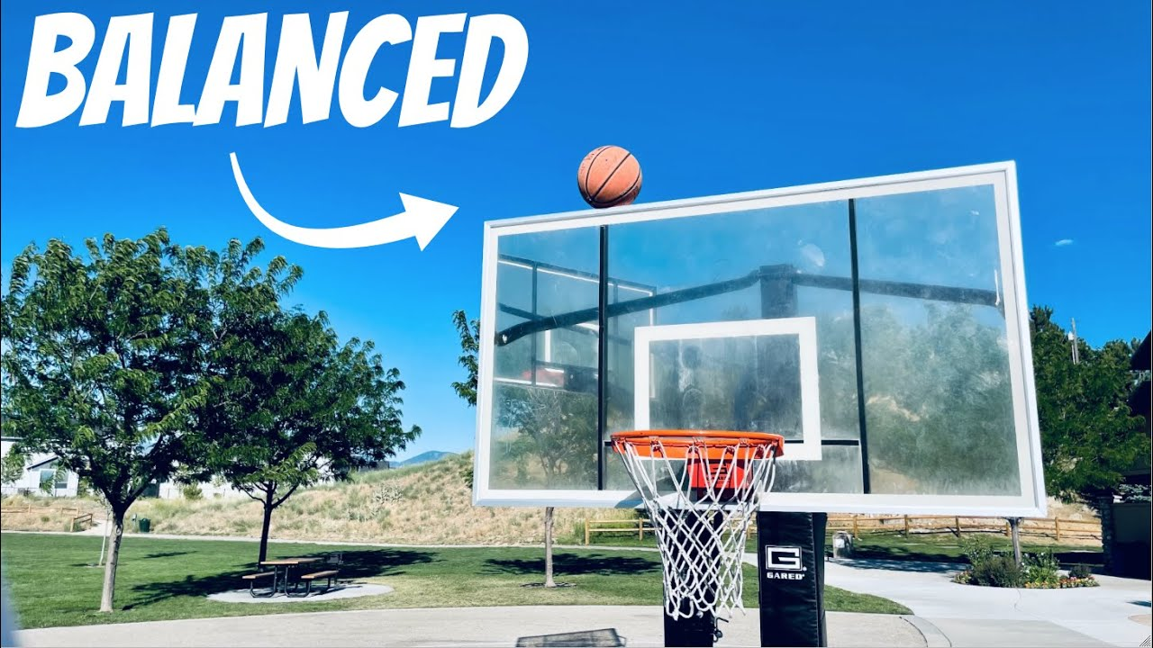 The Luckiest Basketball Trick Shot Ever