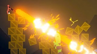 MEGA LASER CANNON! - STICK FIGHT