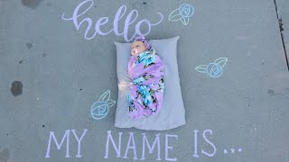 Baby Name Reveal!