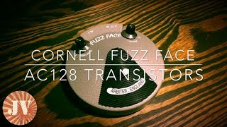 CORNELL FUZZ FACE   AC128 TRANSISTORS